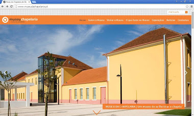WEBSITE DO MUSEU DA CHAPELARIA