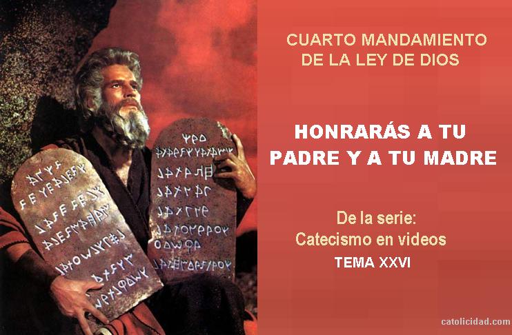 Catolicidad: EL CUARTO MANDAMIENTO DE LA LEY DE DIOS ...