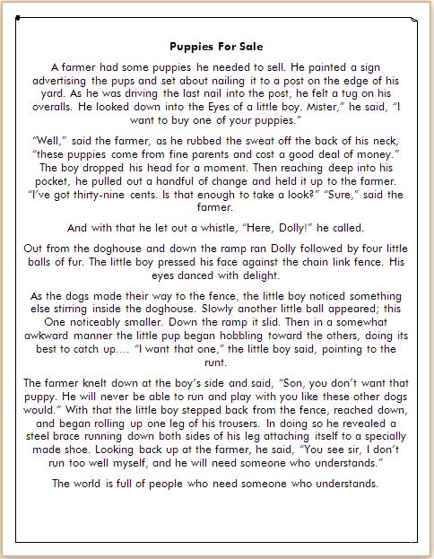 cerpen bahasa inggris tentang anjing