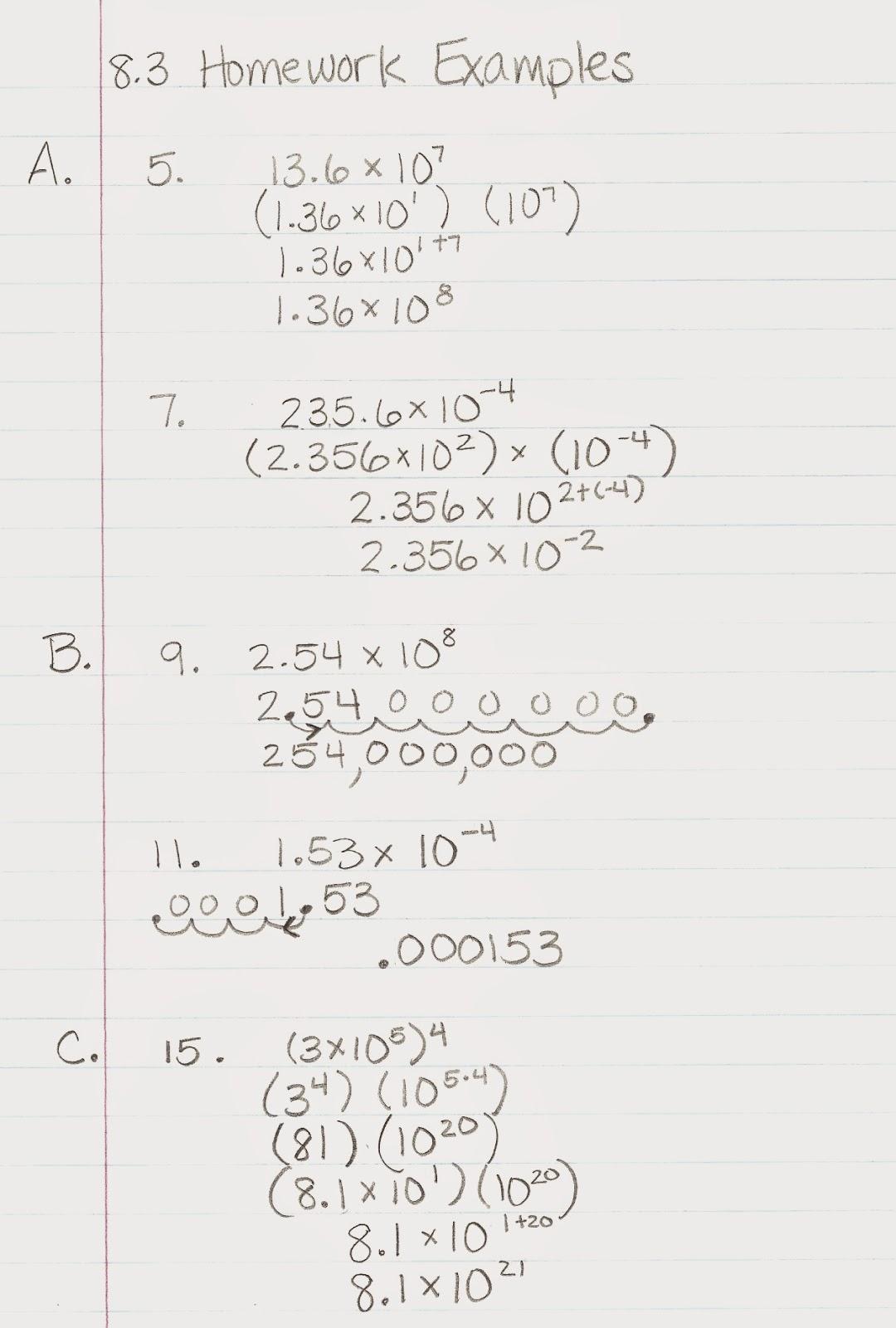Homework helpers algebra 1
