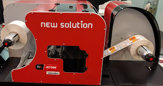 Adam Color Label Printer From New Solutions