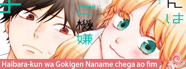 Haibara-kun wa Gokigen Naname chega ao fim