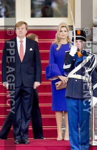 Король и королева Нидерландов встретились с президентом Мозабика