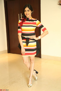 Adha Sharma in a Cute Colorful Jumpsuit Styled By Manasi Aggarwal Promoting movie Commando 2 (138).JPG