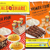#Goldilocks Offers Meals-To-Share Sets
