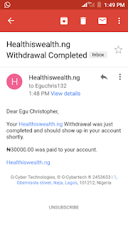 HIWAP withdrawal