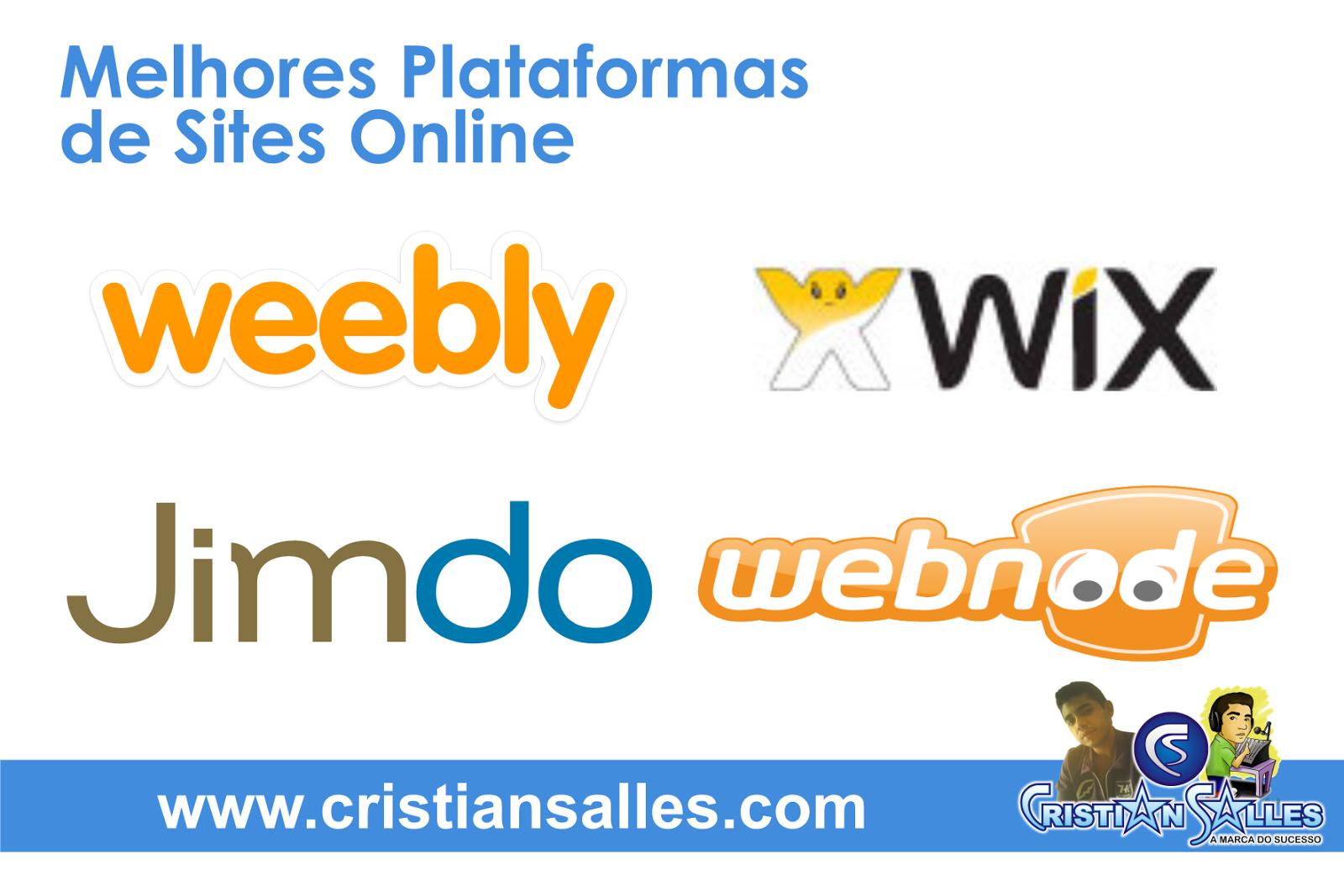 Melhores Plataformas de Sites Online