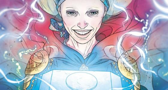 Jane Foster demuestra ser digna de Mjolnir