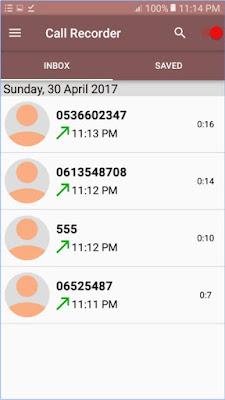 تحميل برنامج تسجيل المكالمات call recorder automatic للاندرويد