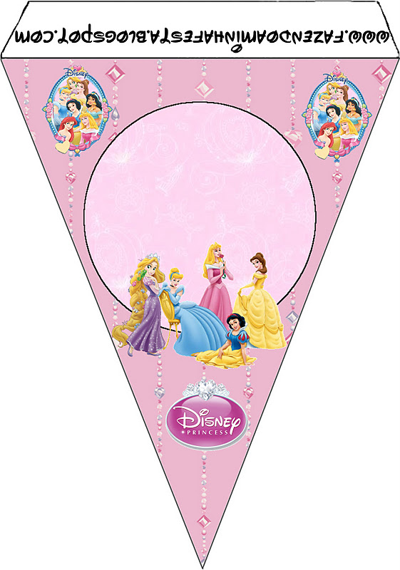 Disney Princess Free Party Printables Oh My Fiesta In