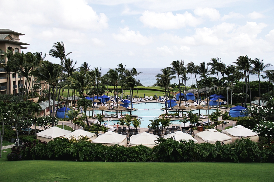 POOL MAUI RITZ CARLTON