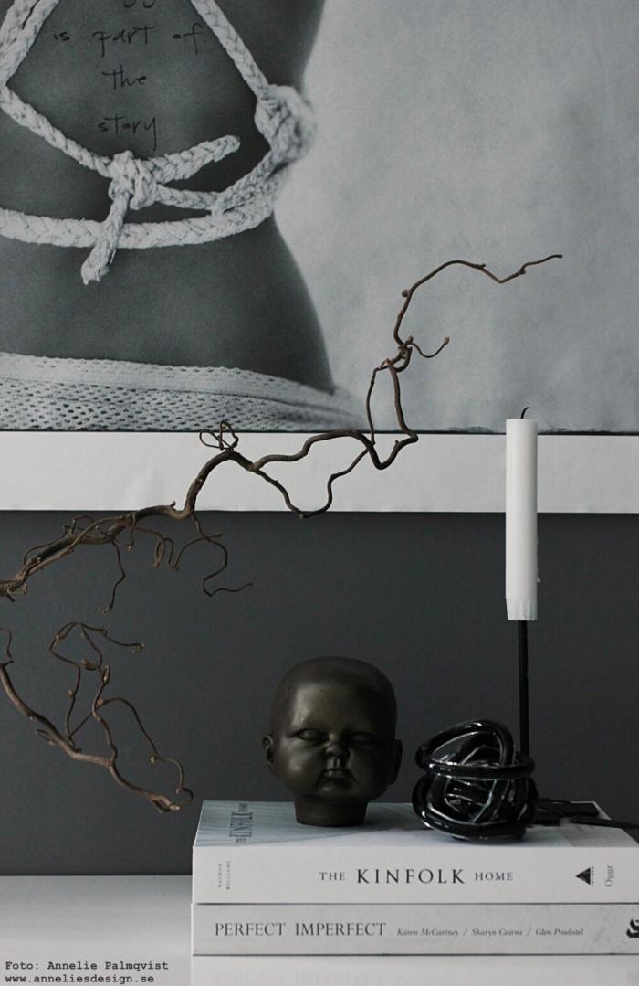 annelies design, webbutik, baby doll ansikte, huvud, inredning, inredningsdetaljer, dekoration, prydnad, glasboll