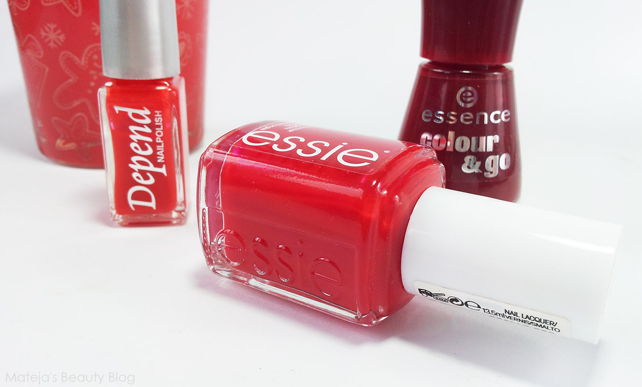 Essie Really Red - Mateja\'s Beauty Blog