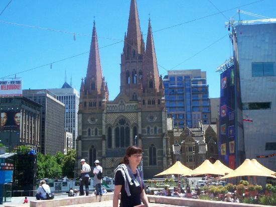 St pauls Katedral melbourne Australia.