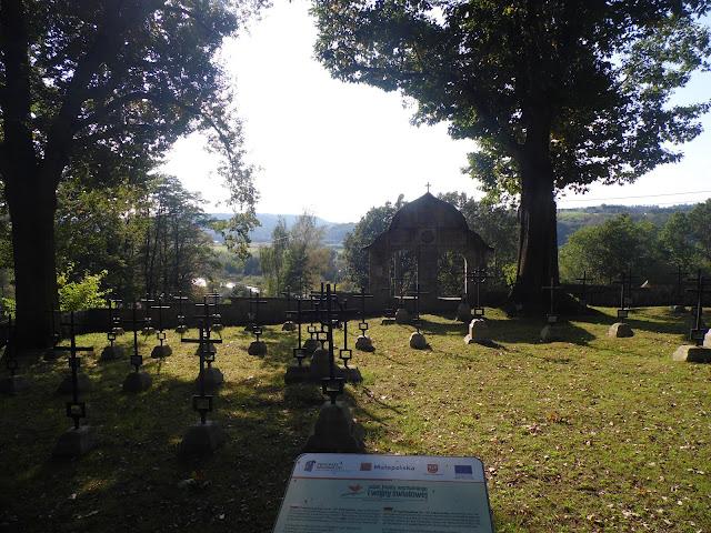 Ciężkowice - cmentarz z I Wojny Światowej