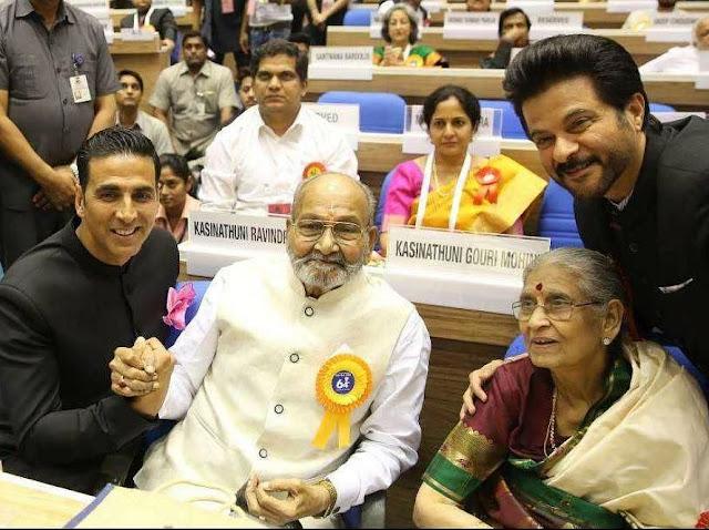 Akshay Kumar at 64th National Film Awards