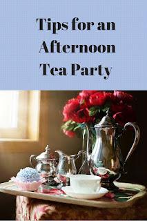 High tea, afternoon tea, tea party
