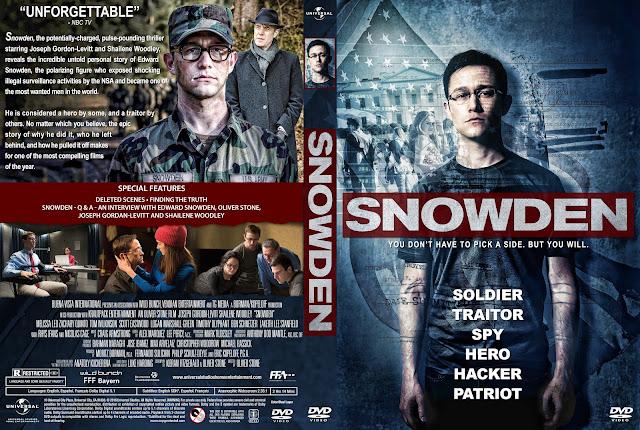 Snowden DVD Cover