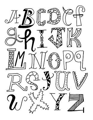 Alphabet Letters For Preschool