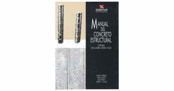 Descargar Manual del Concreto Estructural - Joaquín Porrero