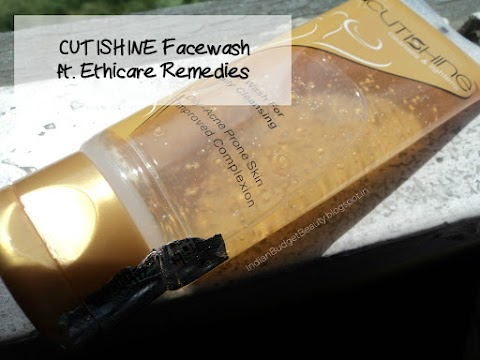 CUTISHINE Face Wash REVIEW ft. Ethicare Remedies