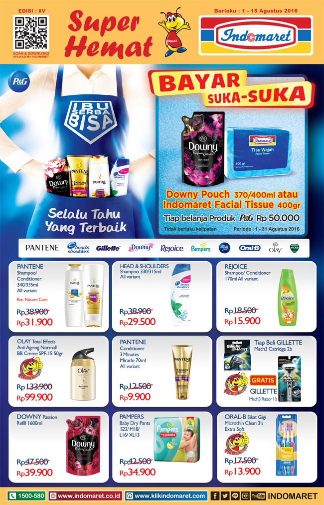 Katalog Harga Promo Belanja Di Indomaret Periode 1 15 Agustus 2016