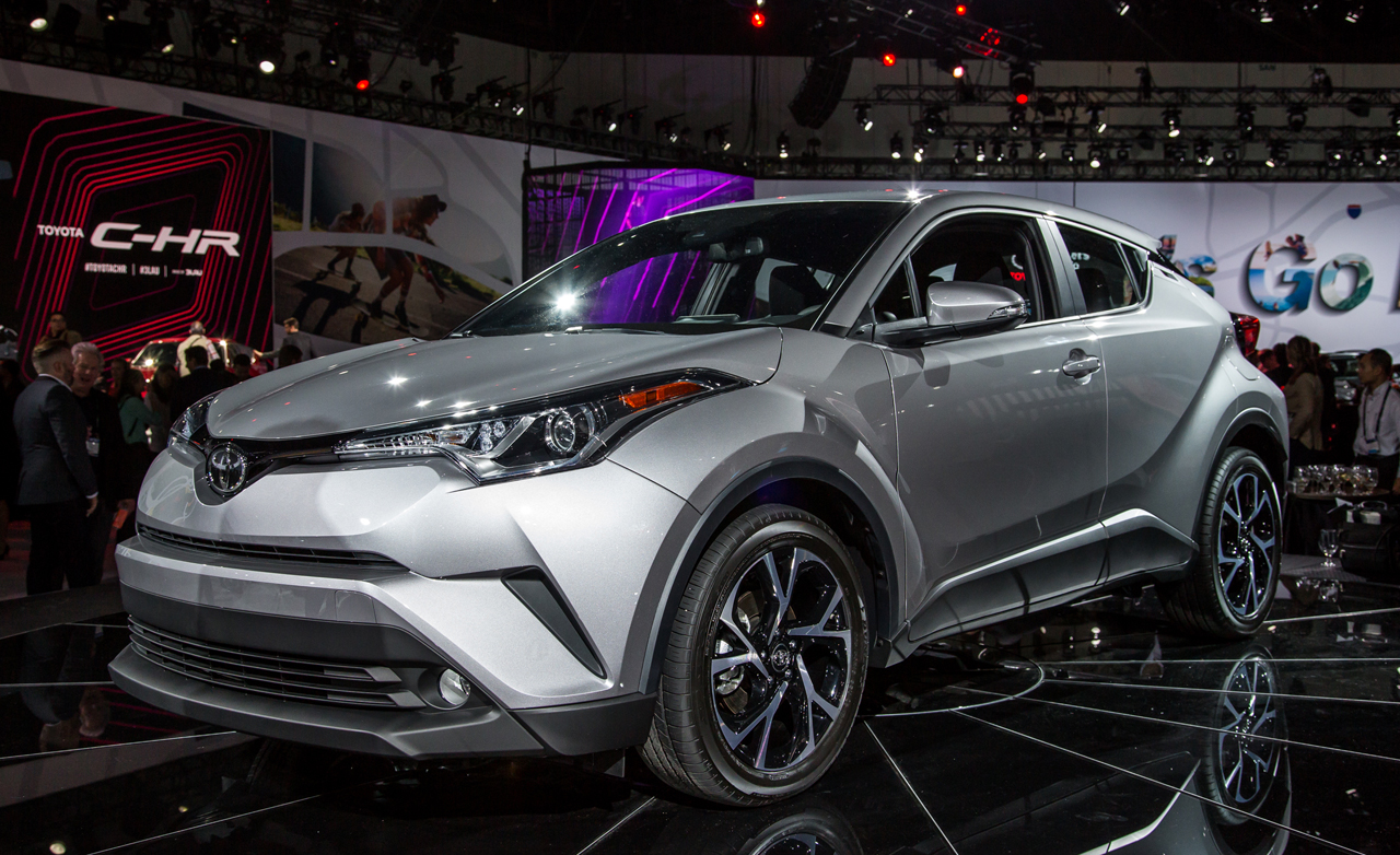 From Scion Concept to Production Toyota: The 2018 C-HR