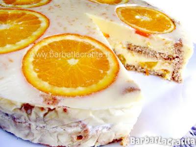 Tort de portocale reteta