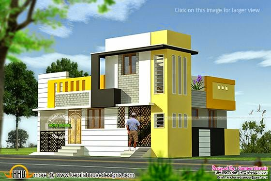 960 square feet house kerala home design and floor plans for 1000 sq ft house front elevation