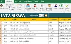 Aplikasi Penilaian dan Raport Kurikulum 2013 Revisi Tahun 2017 SD