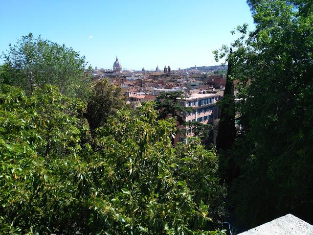 Roma dalla terrazza del Pincio-Roma