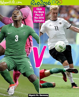 RIO Olympics: Nigeria 0 - 1 Germany