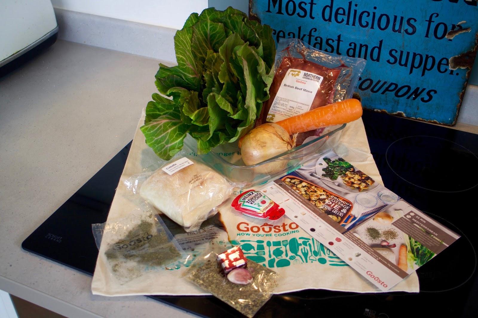 Gousto Food Subscription Box