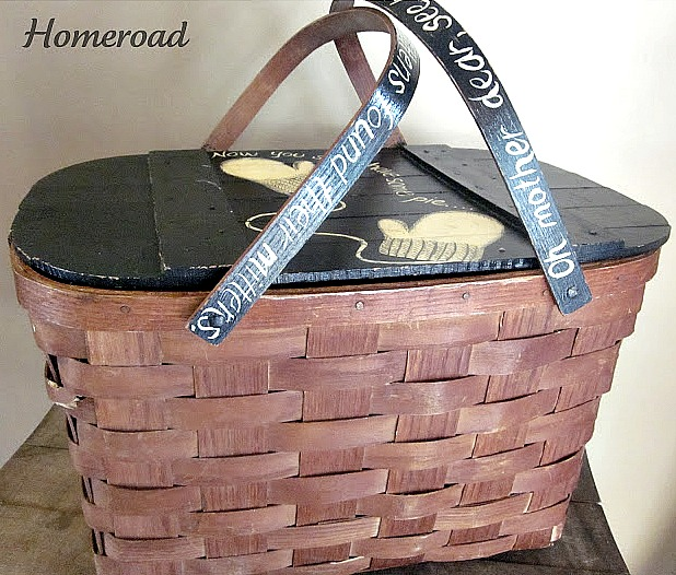 Lost Sock Basket for the Laundry Room