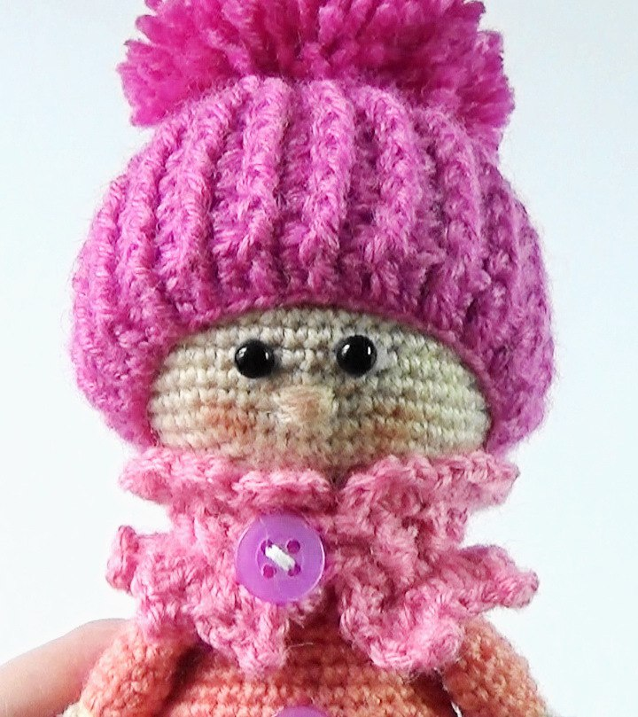 Amigurumi Kitaplari : Leithygurumi: The Doll with Hat Free Amigurumi Pattern