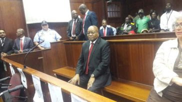 Jacob Zuma Appears In Court To Face Corruption Charges