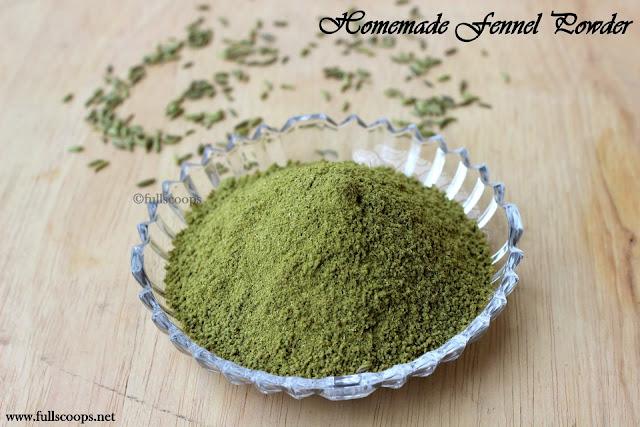 Homemade Fennel Powder