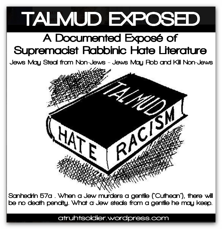 GOYIM MUST READ THE TALMUD