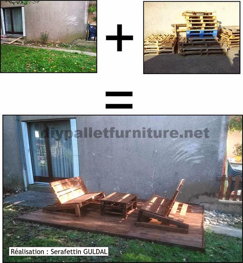 Mueblesdepaletsnet Arregla Tu Jardin Con Unos Cuantos Palets De Madera - Ideas-para-reciclar-unos-palets