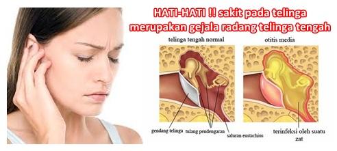 Pengobatan Radang Telinga Tengah