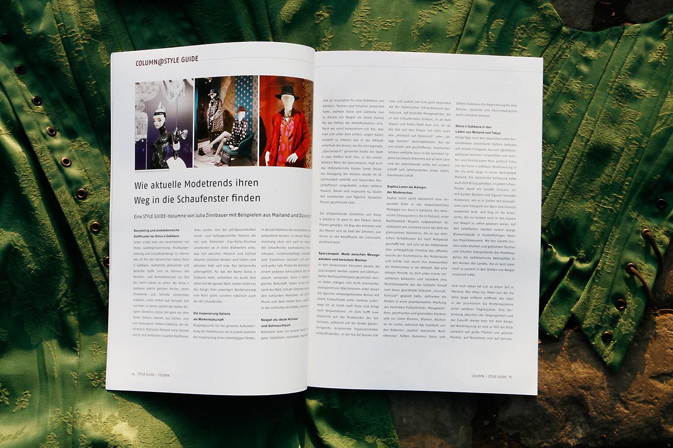 Scissorella Meine Kolumne Fur Das Magazin Styleguide Im November