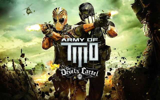 army of two the devils cartel 2013 fundos papel de parede