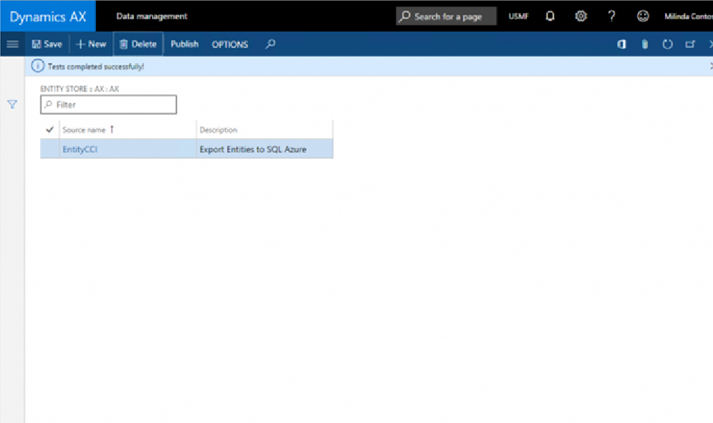 Create/Configure/Export using BYODB in Dynamics 365 for