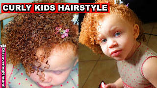 Curly Kids Hairstyles: Wash and Go Toddler Hair Routine | Curly Kids Mixed Hair Care