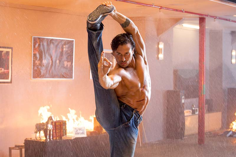 Daily pepper for Tiger shroff tattoo
