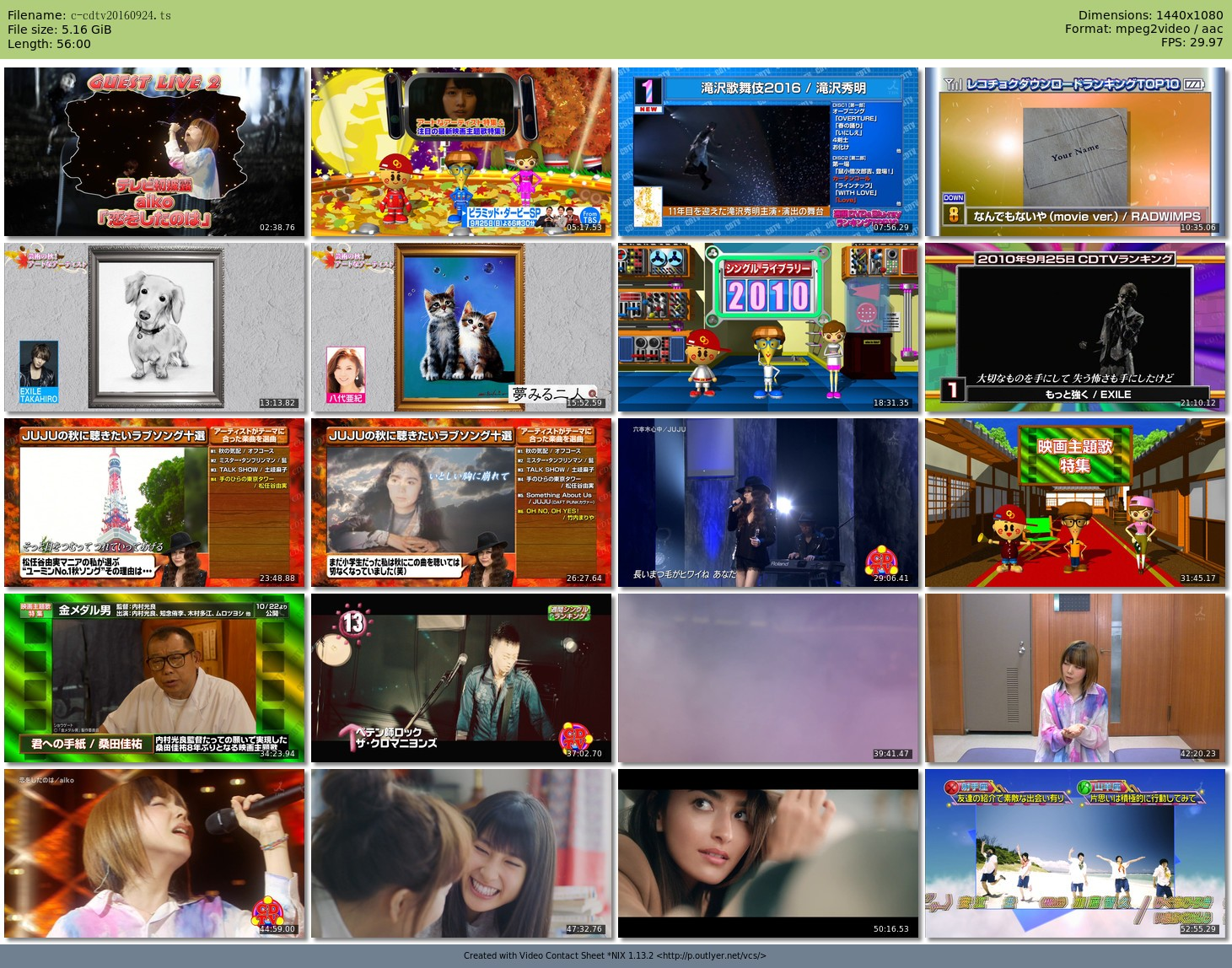 [TV-Variety] CDTV (2016.09.24/TS/5.16GB)