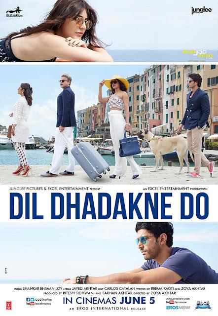 Dil Dhadakne Do (2015) ταινιες online seires oipeirates greek subs
