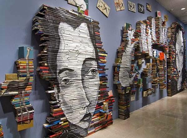 Arte y libros una buena combinacion