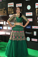 Nandita Swetha in a tight Green Choli Ghagra at IIFA Utsavam Awards March 2017 ~ 079.JPG