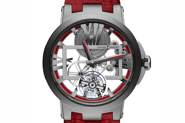 Ulysse Nardin Executive Skeleton Tourbillon Boutique1